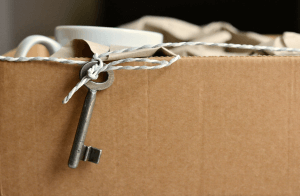 Property related services - evictions - packed box